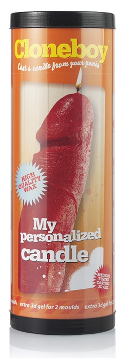 Cloneboy-Personalized-Red-Candle